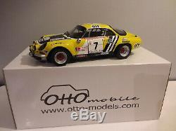 Rare! G006 Ottomobile 1/12 Superbe Alpine A110 G. 4 Tour De Corse 1975 Nicolas
