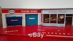 Rare-Garage, Station-service, ESSO DEPREUX voitures 1/43 sans boite, 1960/70
