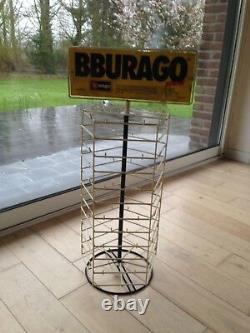 Rare Métal Shop Display Bburago Burago 1972 as Dinky Toys Matchbox