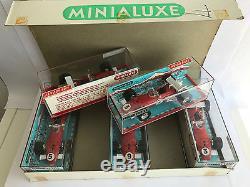 Rare Minialuxe Boite Complete De 5 Ferrari F1 312b 1.43 Nb