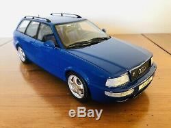 Rare Otto Mobile 118 AUDI RS2 AVANT Blue OT091 LTD Otto Models
