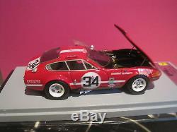 Rare! Superbe Ferrari 365 Gtb/4 Le Mans 1972 #34 Bbr Gasoline 1/43 Neuf Boite