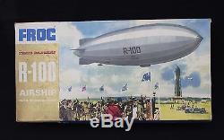 Rare maquette dirigeable FROG R100 airship R-100 F. 128 trail blazers