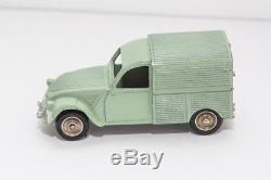 Rarissime Dinky Toys Serie Poch Citroen 2CV Furgoneta