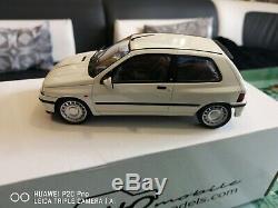Renault Clio 16s blanche Ph. 1 Otto ottomobile 1/18 en boite OT525 500ex