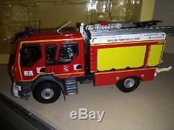 Renault D14 4x4 Ccr Gallin Sdis 18 Cher Pompiers 1/43 Eligorpeu Courant