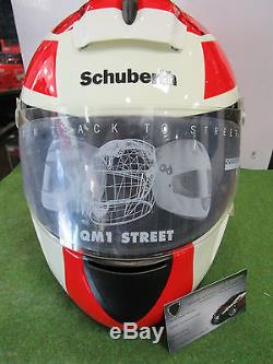Replique Casque Qm1 Michael Schumacher 58/59 L 1/1 Schuberth Neuf + Housse Rare