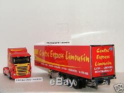 SCANIA SERIE G 420 SEMI FOURGON CENTRE EXPRESS LIMOUSIN ELIGOR 1/43 Ref 115248