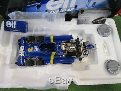 SET 2 TYRRELL P34 GP SUEDE SCHECKTER + DEPAILLER au 1/18 TRUE SCALE TSM10196