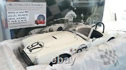 SHELBY AC COBRA 289 blanc # 97 DAYTONA CONTINENTAL SKIP HUDSON 1/18 EXOTO 18130
