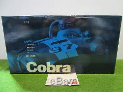 SHELBY AC COBRA Roadster cabriolet 1963 noir 1/18 EXOTO RLG 18128 voiture miniat