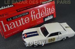 SOLIDO FRANCE. Série 100. FORD MUSTANG RALLYE. REF 147 BIS + boite