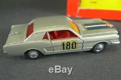 SOLIDO FRANCE. Série 100. FORD MUSTANG RALLYE (grise)REF147 BIS + boite. (lot2)