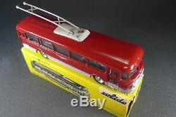 SOLIDO FRANCE. Série 100. Trolley-bus CHAUSSON. REF 119/120. + Boite