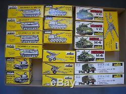 Solido Militaire Exceptionnel Lot De 144 Modeles Neufs En Boites D'origine