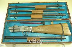 SOLIDO démontable. Coffret X fusil jouet. 1933 / 1938