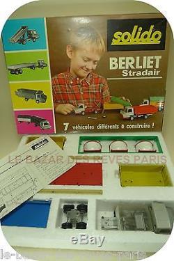 SOLIDO démontable. Coffret camions PL 3. BERLIET SRADAIR