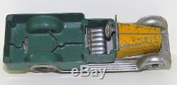 SOLIDO demontable MAJOR FOURGON PICK-UP Châssis CHROME, caisse VERTE