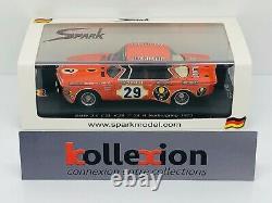 SPARK SG004 BMW 3.0 CSL Jagermeister n°29 Winner Nurburgring 1973 1.43