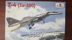 SUKHOI T-4 (Su-100) AMODEL 1/72 FIBER/PLASTIC KIT