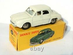 SUPERBE Dinky Toys FRANCE 524 24E Renault Dauphine NEUF BOITE orig DOUBLE REF