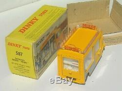 SUPERBE vrai DINKY TOYS France 60's 567 CITROEN Tub H HY PHILIPS NEUF Boîte orig