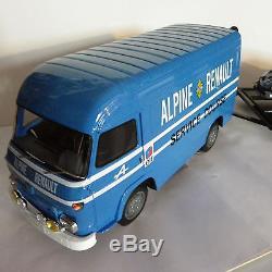 Saviem Sg2 Sb2 Ottomobile Otto 118 Ot224 + Ixo Alpine A110 + Remorque Motormax