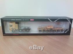 Scania 8x4 semi porte mat LTM 11200. 1/50 WITH BOX