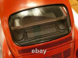 Schuco 118 VW Beetle Coccinelle 1600i, Última Edición, orange, NEUF