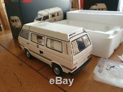 Schuco 118 VW T3 Camper Westfalia JOKER, BLANC! , NEW! TOP