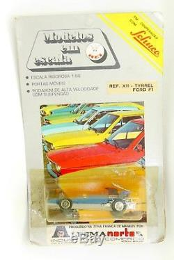 Schuco Rei Brazil 1/66 Tyrrel Ford F1 Ref. X11 En Blister / Alfema Manaus