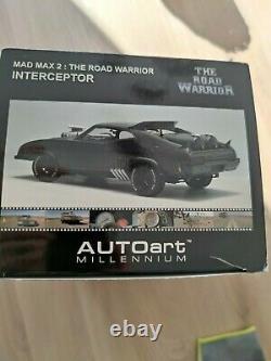 Sealed Autoart 1/18 The Road warrior Mad Max 2 Interceptor Ford Falcon 72745
