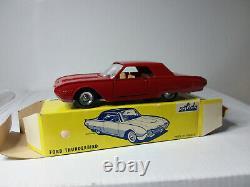 Solido Ancien # 128 Superbe Ford Thunderbird Neuf En Boite D'origine 1/43