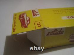 Solido Ancien Superbe Fiat 2300 S Cabriolet Neuf En Boite D'origine 1/43 #133