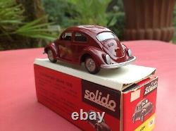 Solido Brosol VOLKSWAGEN SEDAN 1500 Käfer Beetle industria Brasileira Très RARE