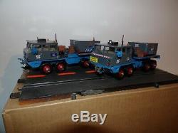 Solido Corgi Convoi Edf Gdf T12 Berliet + Remorque Et Charge