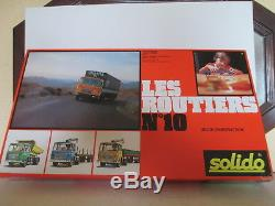 Solido Demontable # 430 Coffret Les Routiers 10 Mib Never Openned Jamais Ouvert