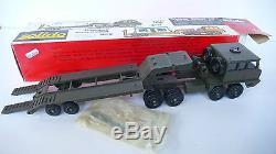 Solido Tracteur Berliet T12 Porte Char Avec Boite
