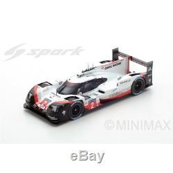 Spark 18LM17 PORSCHE 919 Hybrid N°2 LMP Team Vainqueur 24 H Le Mans 2017 1/18