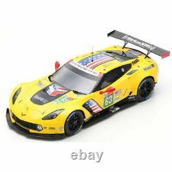 Spark 18S433 CHEVROLET Corvette C7. R N°63 24H Le Mans 2019 Magnussen Ga 1/18