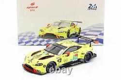Spark 18S438 ASTON MARTIN Vantage GTE N°95 24H Le Mans 2019 Thiim M. S 1/18