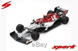 Spark 18S453 SAUBER Alfa Romeo Racing F1 Team N°99 GP Australie 2019 1/18