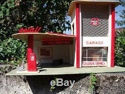 Splendide Garage Station Motul Atomic 1955 Etat Rare 1/43