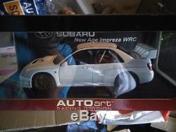 Subaru impreza New Age WRC 2003 Plain body version Autoart 1/18 en boite
