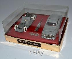 Sublime Peugeot 403 à moteur Gégé 1/43 en coffret rarissime