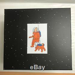 TINTIN 44023 MOULINSART Fariboles Tintin et Milou cosmonaute sur la lune