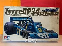 Tamiya Maquette Tyrrell P34 Six Wheller 1/12 Complet En Boite