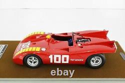 Tecno Model 1/18 Abarth 2000 S 1969 Imola Orten Van #25 Tm18-58e Tecnomodel