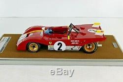 Tecno Model 1/18 Ferrari 312pb 1972 Daytona 6h Andretti Ickx Tm18-61b Tecnomodel