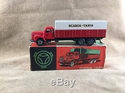 Tekno 451 Scania Vabis Truck En Boîte Originales (s) Vintage Original Model